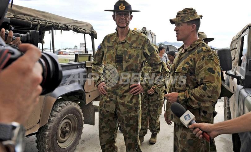 オーストラリア首相と軍司令官が東ティモール訪問