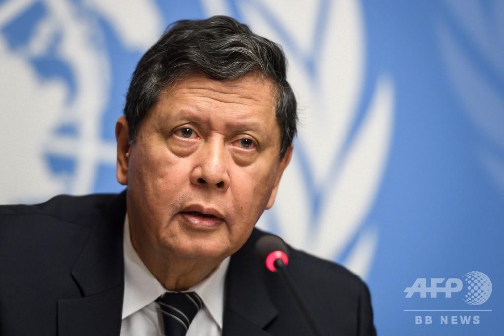 国連のロヒンギャ調査団、ミャンマー国軍総司令官らの捜査と訴追要求