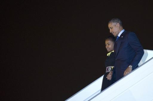 オバマ大統領がセネガル到着、 アフリカ3か国を歴訪