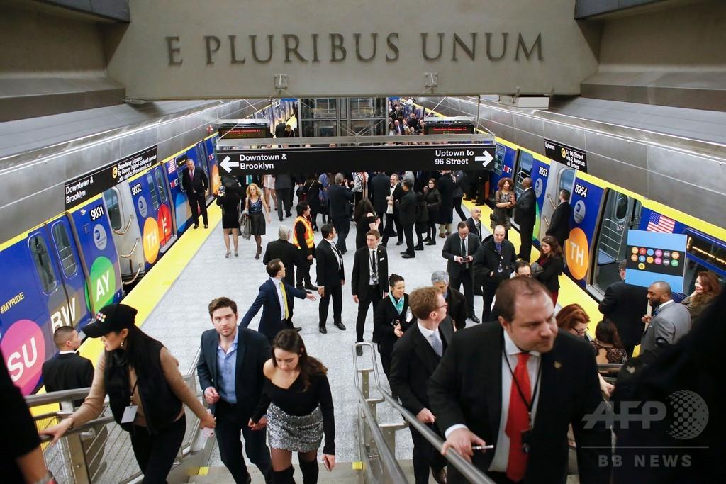 米ニューヨーク市地下鉄に新路線開通、50年ぶりの大型拡張