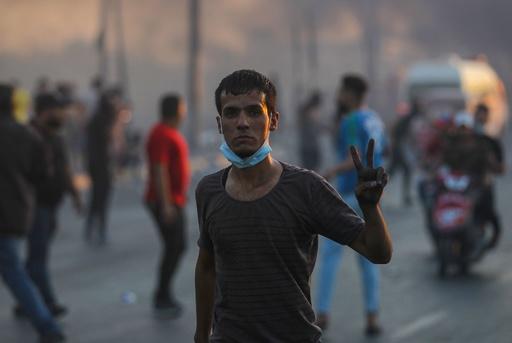 イラク、デモ衝突の死者99人に 国連が事態収拾呼び掛け