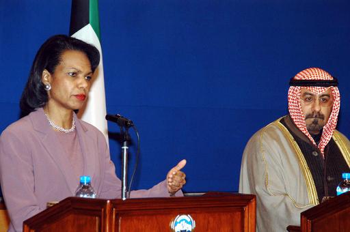 中東歴訪中のライス長官、「イラクへの内政不干渉」を湾岸協力会議諸国と宣言 - クウェート