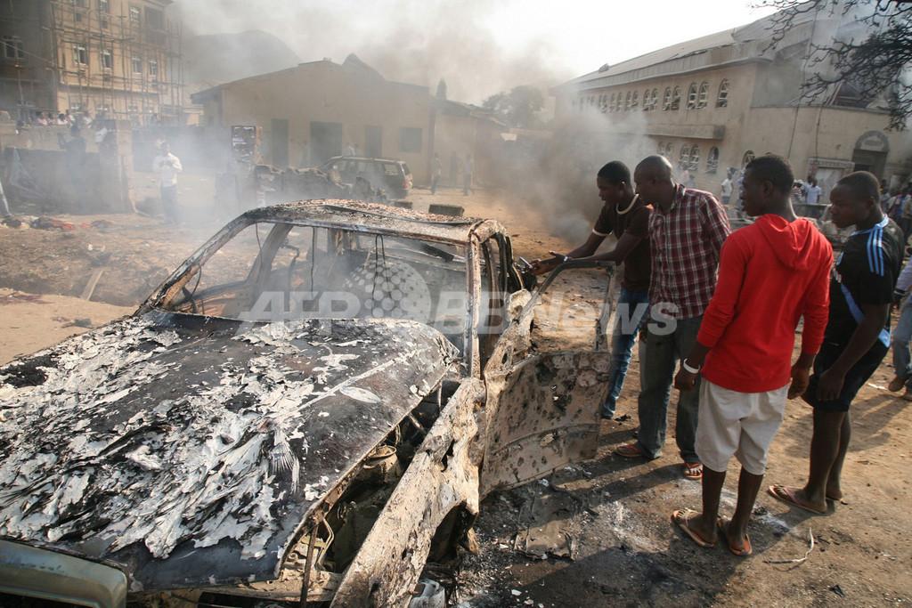 ナイジェリア、クリスマスに爆弾攻撃相次ぐ 礼拝中の教会狙う