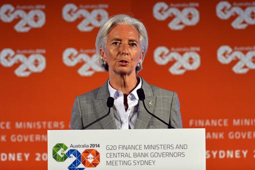 ウクライナ金融支援「パニックは不要」、IMF専務理事