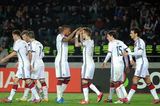 ドイツが敵地でグルジアに勝利、欧州選手権予選