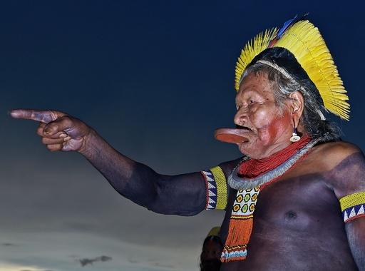 アマゾン先住民ら大会合、ブラジル大統領の密林開発で共同戦線
