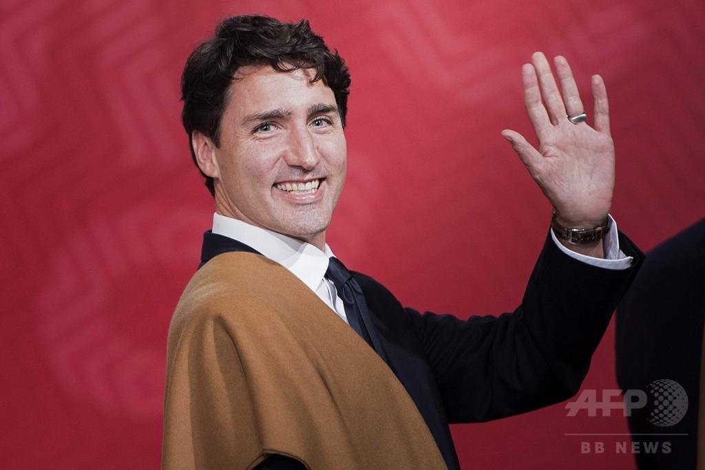 カナダ首相「難民を歓迎」とツイート、米大統領とは対照的