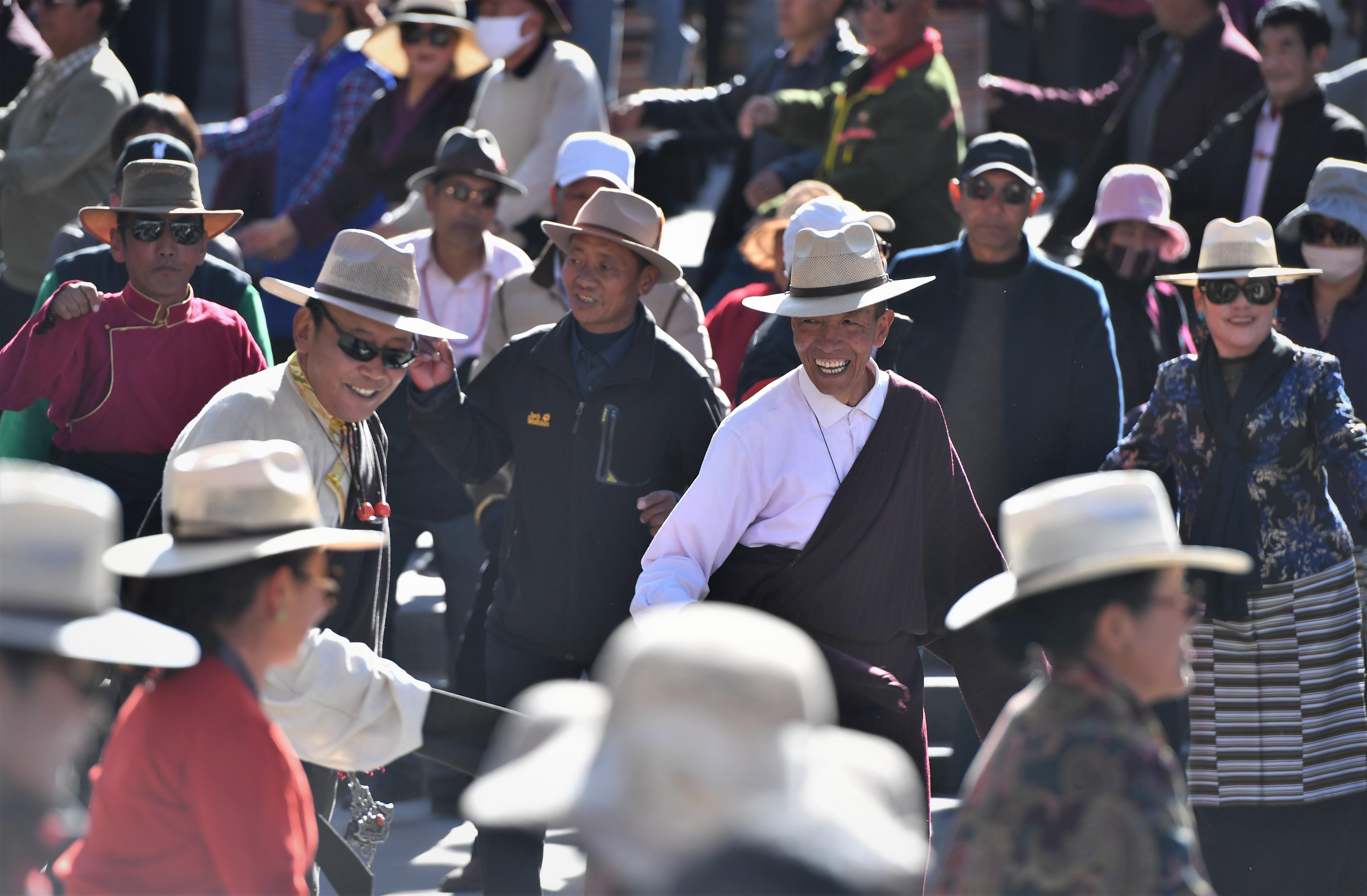 春めくチベット自治区ラサ市