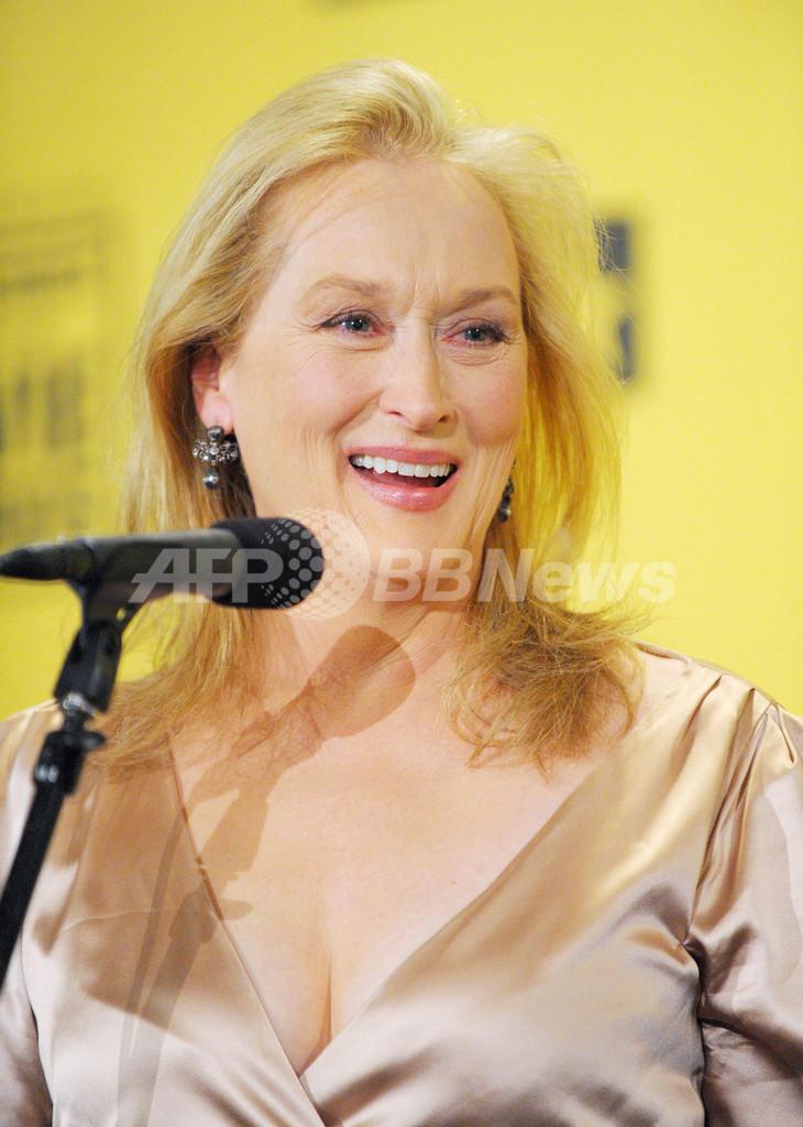 メリル・ストリープ、ミュージカル・コメディ部門の主演女優賞を獲得
