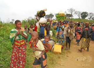 紛争下のコンゴ、中央カサイの避難民100万人以上に 国連