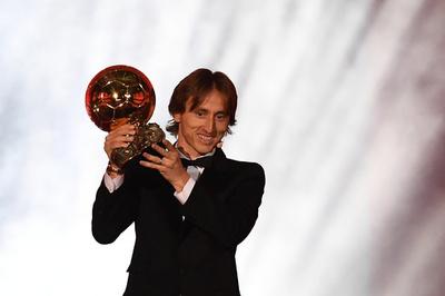 モドリッチがバロンドール初受賞、メッシとロナウドの独占は10年で終止符