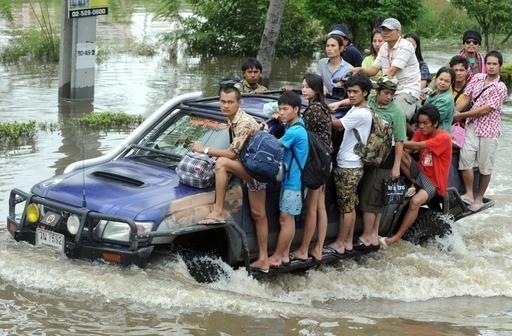 タイ洪水の保険金請求額は約520億円、ミュンヘン再保険が見通し