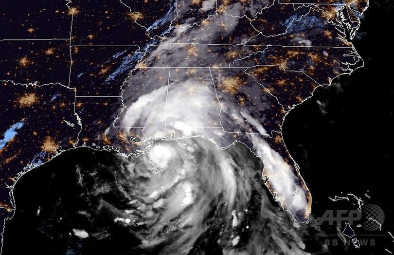 ハリケーン「ネイト」、米ルイジアナ州南東端に上陸し北上