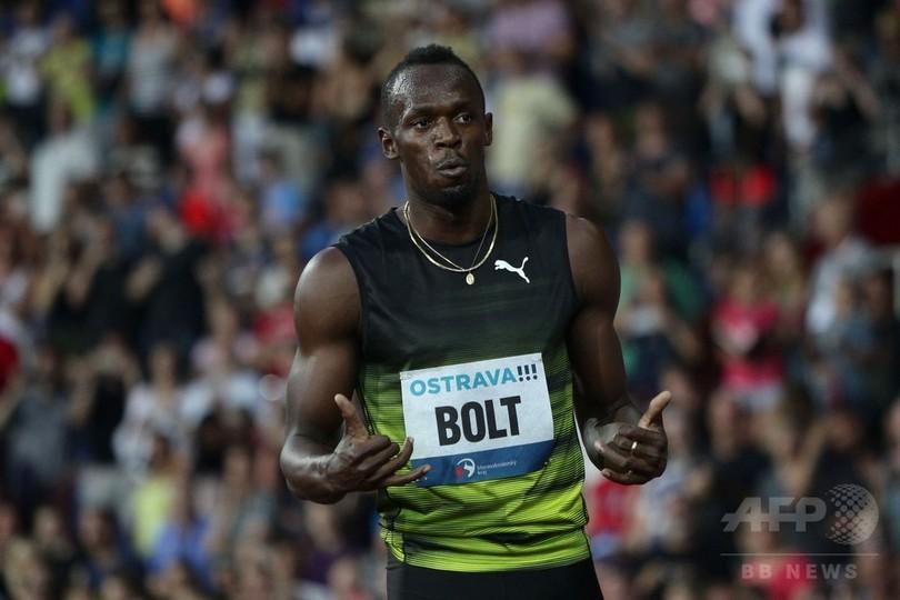 ボルト、背中にこわばりを抱えつつ100mで優勝