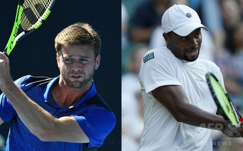 米テニス選手同士で人種差別か、ATPが調査開始