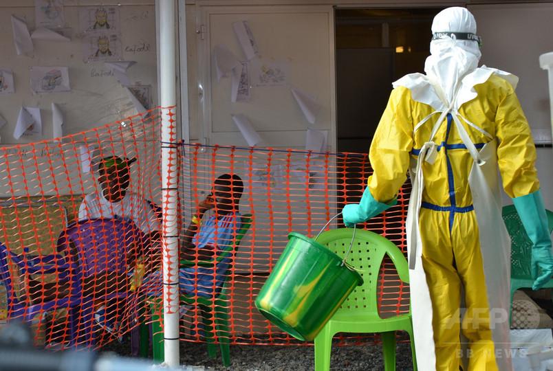 エボラ流行終息へ秒読み、ギニアで一足早く「祝賀コンサート」