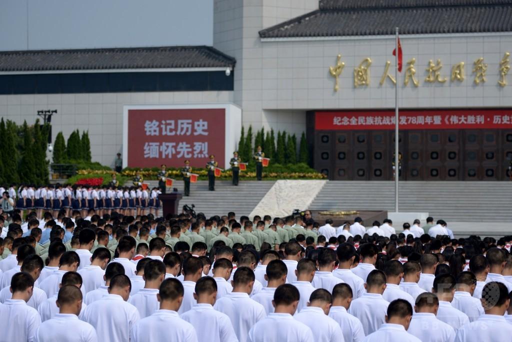 盧溝橋事件78年で式典、「政治利用」との指摘も 中国