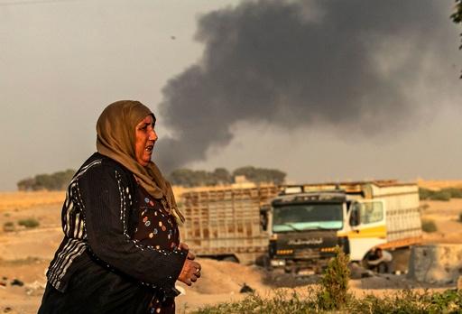 トルコ軍、対クルド作戦でシリア侵攻 民間人に死者
