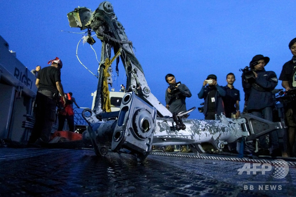 墜落したインドネシア機、対気速度計に問題 事故前にも発生