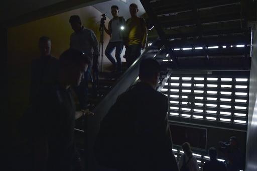 ベネズエラ首都と8州でまた大停電 政権は電力システムへの「攻撃」と主張