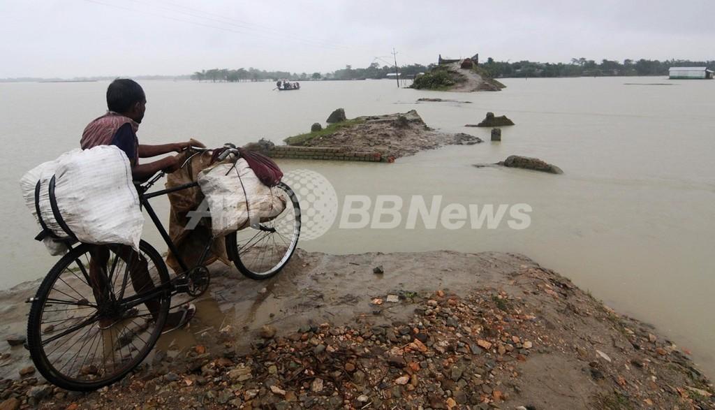 地球温暖化でアジアの洪水リスク大幅増、東大研究