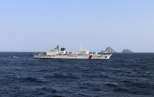 竹島付近で3遺体発見、墜落した韓国救助ヘリの搭乗者か
