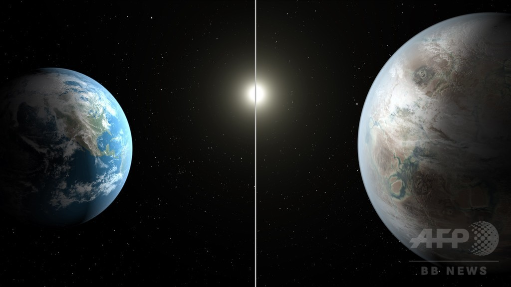 太陽類似星を周回する地球に似た惑星を発見、NASA