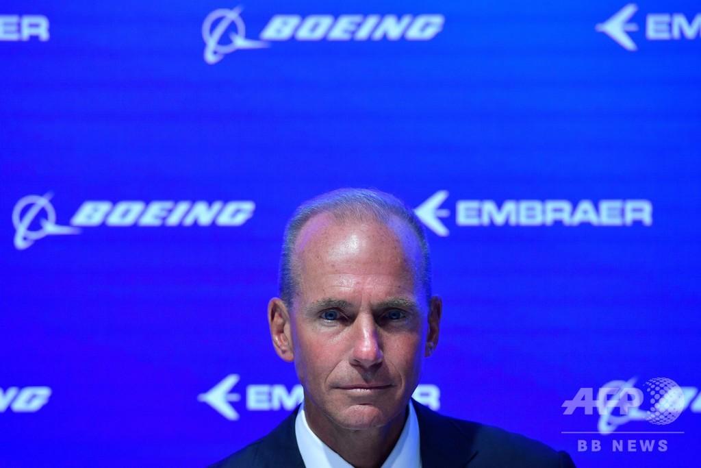 ボーイングCEO「会社の中核は安全性」、ビデオメッセージ発表