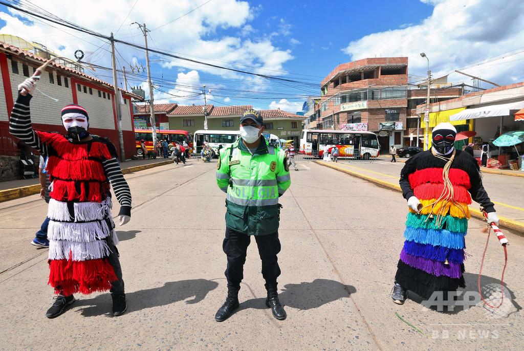 新型コロナで警官223人死亡、1万5500人感染 ペルー