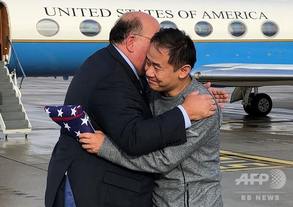 トランプ米大統領、イランに異例の感謝示す 拘束者交換で