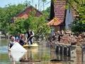 洪水で流出した地雷が爆発、ボスニア・ヘルツェゴビナ