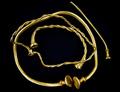 古代ケルトの貴重な金の装飾品、トレジャーハンターが発見 英