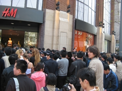 H&M、中国で快進撃