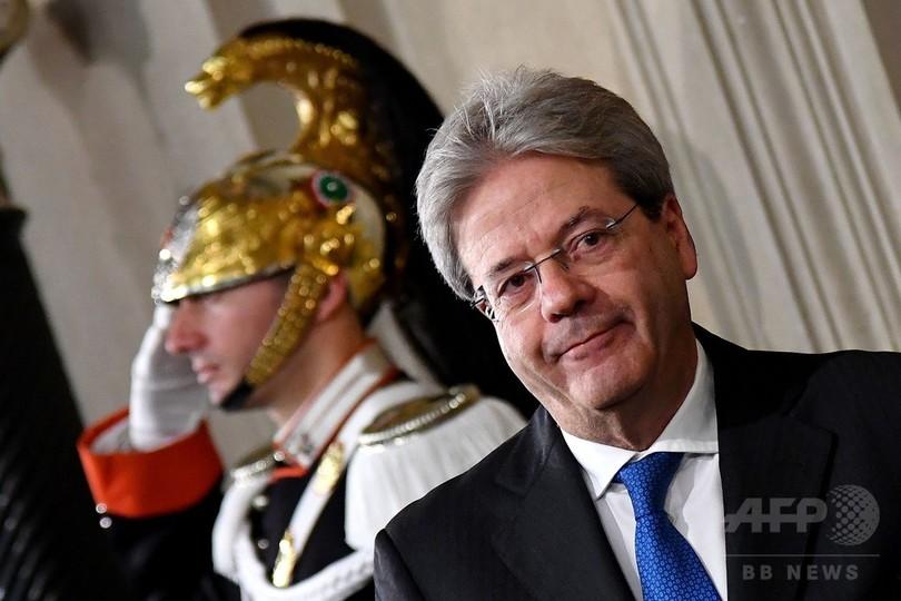 イタリア新首相にジェンティローニ外相