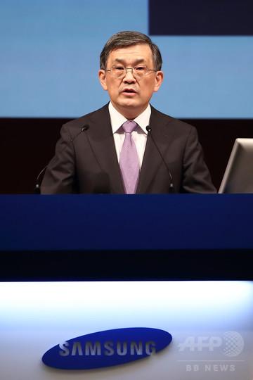 韓国サムスン電子、CEOが退任