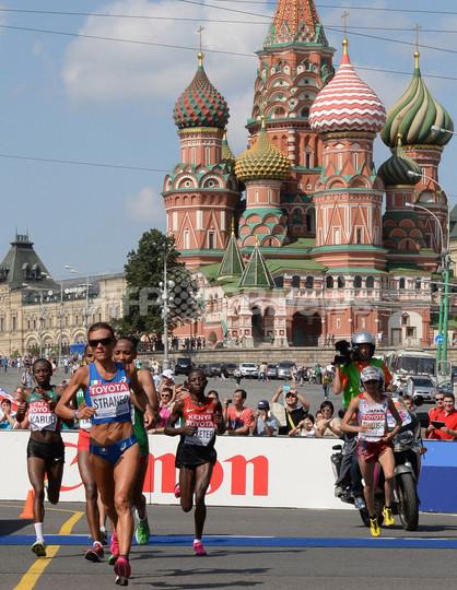 キプラガトが女子マラソン連覇、福士が銅メダル 第14回世界陸上