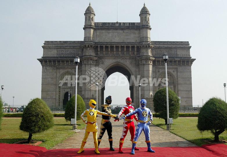 ウォルト・ディズニーのインド進出3周年記念をパワーレンジャーが祝う - インド