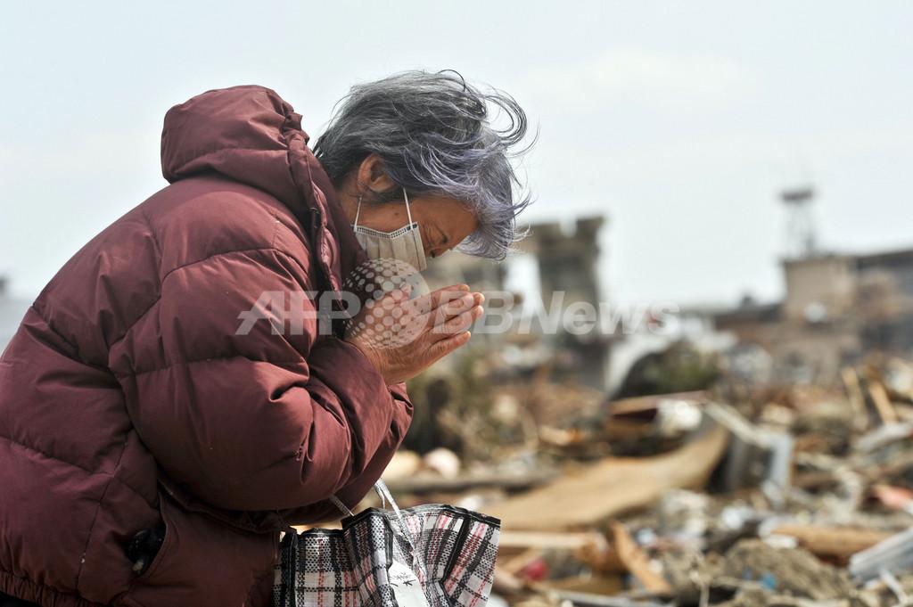死者・行方不明者、2万2000人近くに 東北地方太平洋沖地震
