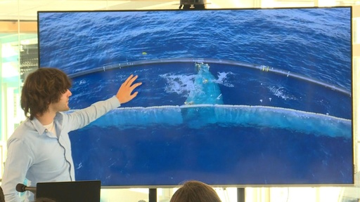 動画:「太平洋ごみベルト」からプラごみ初回収、オランダNGOの海洋清掃プロジェクト