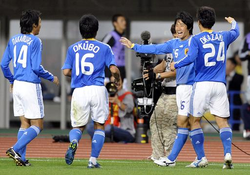 日本 UAEとの親善試合は1-1の引き分けに終わる