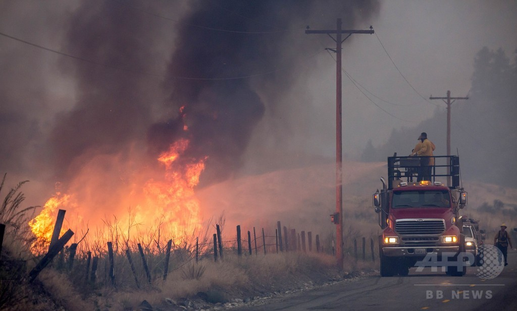 米ワシントン州の山火事、史上最大規模に拡大