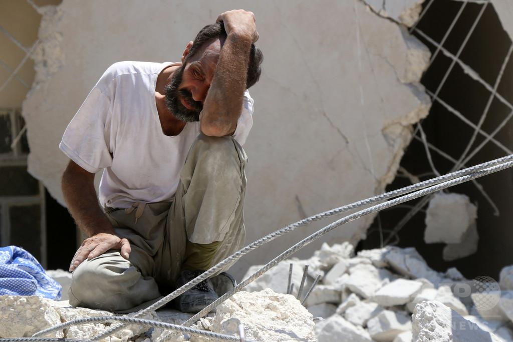 赤十字総裁、シリア・アレッポでの戦闘は「史上最悪レベル」