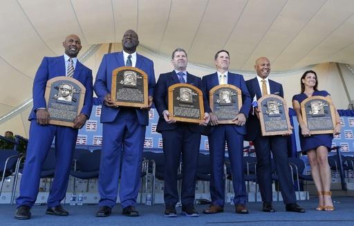 2019年の米野球殿堂入り式典、史上初満票選出のリベラ氏ら表彰