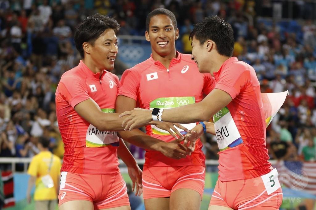 日本が銀メダル獲得! 男子400mリレーで快挙