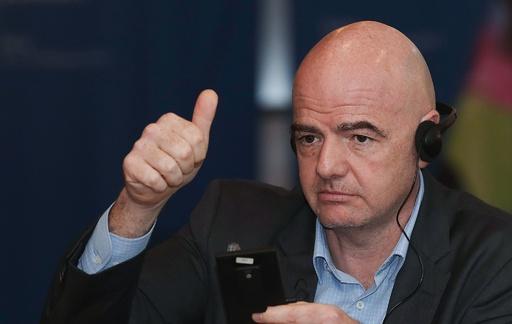 2026年W杯は複数国の共催を「奨励」、FIFA会長