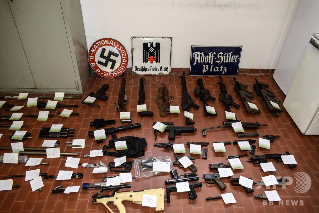 極右関係者宅からミサイル イタリア警察が押収