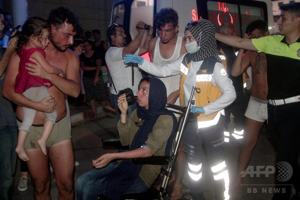 北キプロス沖で移民のボート沈没、19人死亡30人不明