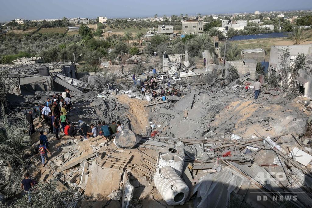 イスラエル軍がガザのハマス施設を空爆、イスラム聖戦との停戦発効中