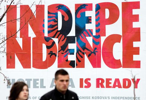 コソボ独立宣言、EU外相会議の直前か