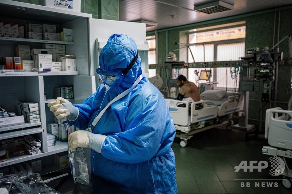 新型ウイルス病棟で「強制労働」 ロシア医学生が抗議の声